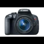 Canon EOS Rebel T5i + EF-S 18-55mm + EF-S 18-135mm 18MP CMOS 5184 x 3456Pixeles Negro