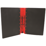 Guildhall L ERGONOMIC BINDER A4 RED