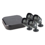 Yale 4 camera 8 channel 1080 DVR 2TB video surveillance kit Wired 8 channels