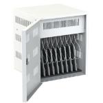 Loxit 7707 portable device management cart/cabinet Portable device management cabinet White