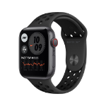 Apple Watch SE Nike OLED 44 mm Grey 4G GPS (satellite)