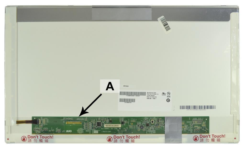 2-Power 17.3 HD+ 1600x900 LED Glossy Screen - replaces B173RW01V.4