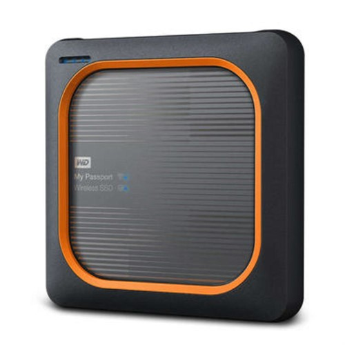 Western Digital My Passport Wireless 2000 GB Wi-Fi Black,Orange