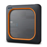 Western Digital My Passport Wireless 2000GB Wi-Fi Black, Orange