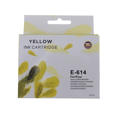 TARGET T614 Epson Compatible Yellow Replacement Ink