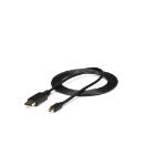 StarTech.com MDP2DPMM3 DisplayPort kabel 0,9 m mini DisplayPort Zwart