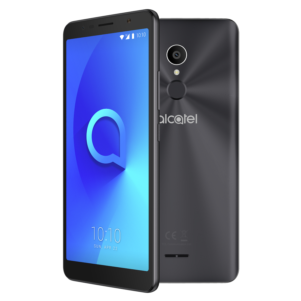 "Alcatel 3C 15.2 cm (6"") 1 GB 16 GB Dual SIM Black 3000 mAh"