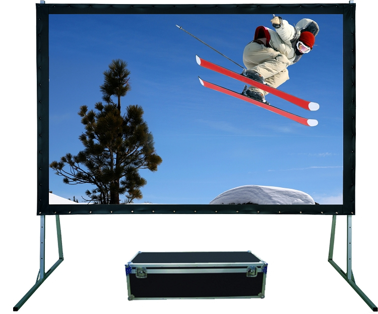 Sapphire Rapidfold - SFFS244RP 244cm x 182cm - 4:3 - Fast Fold Screen - Rear Projection Complete