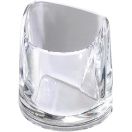 Rexel Nimbus Pencil Cup Clear
