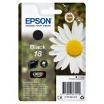 Epson C13T18014012 (18) Ink cartridge black, 175 pages, 5ml