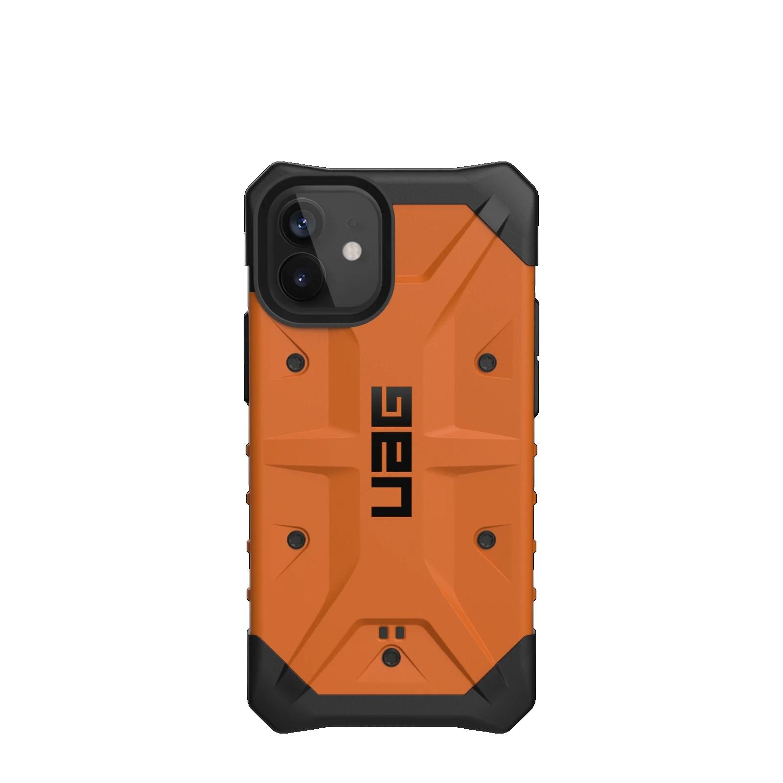 """Urban Armor Gear Pathfinder funda para teléfono móvil 13,7 cm (5.4"""") Negro, Naranja"""