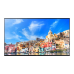 "Samsung QM85D Digital signage flat panel 85"" LED 4K Ultra HD Black"