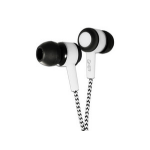 Ghia SPK-1418 Dentro de oído Biauricular Alámbrico Negro, Color blanco auricular para móvil dir