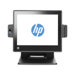 "HP RP7 Retail System Model 7800 All-in-one 2.9GHz G850 15"" 1024 x 768pixels Touchscreen Black POS terminal"
