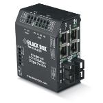 Black Box LBH240A-P-SLC-12 L2 Fast Ethernet (10/100) Black network switch