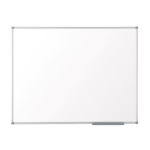 Nobo Basic Steel Magnetic Whiteboard 1200x900mm with Basic Trim