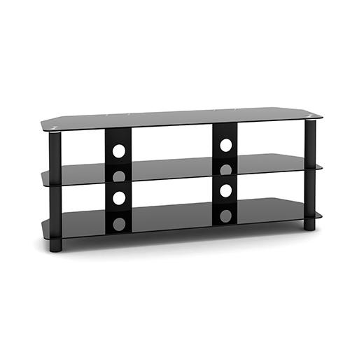 "Techlink Dais 120 Fixed flat panel floor stand Black 152.4 cm (60"")"