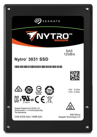 "Seagate Enterprise Nytro 3531 internal solid state drive 2.5"" 800 GB SAS 3D eTLC"