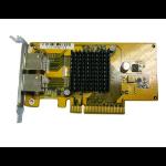QNAP LAN-1G2T-D Internal WLAN 1000Mbit/s networking card
