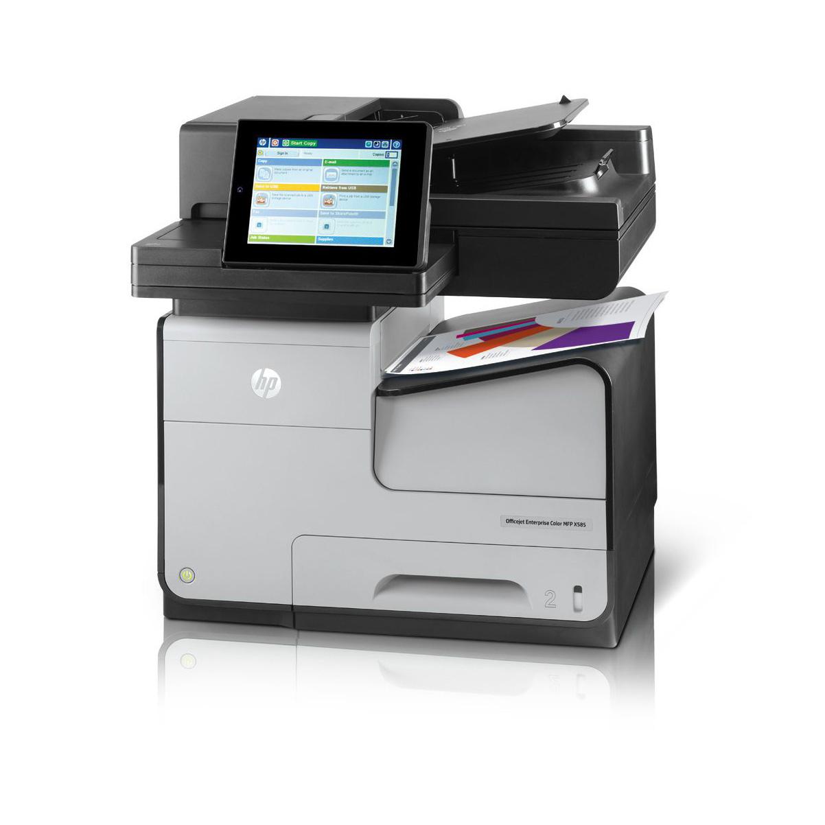 HP OfficeJet Enterprise Color MFP X585dn Inkjet A4 Grey