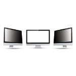 Origin Storage Security Filter 4-way plug in 50.8cm (20.0in) Wide 16:9