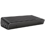 Targus DOCK180EUZ notebook dock & poortreplicator Bedraad USB 3.2 Gen 2 (3.1 Gen 2) Type-C Zwart