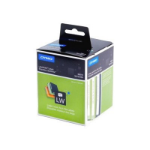 DYMO SD99019 Lever Arch File Large, Paper/White, 59mm x 190mm, 1 Roll/Box, 110 Labels/Roll