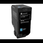 LNL SPC Lexmark CS725 Cyan HCRP Toner Level 2 (12k) 74C2HCE