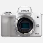 Canon EOS M50 MILC Body 24.1 MP CMOS 6000 x 4000 pixels White