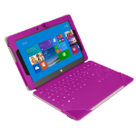 Urban Factory Elegant Folio Case for Microsoft Surface 2, Pink