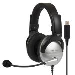 Koss SB45 USB headphones/headset Head-band Black, Silver