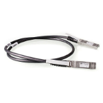 Hewlett Packard Enterprise X242 10G SFP+ 1m coaxial cable SFP+ Direct Attach Copper Black