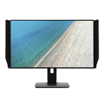 Acer PE320QK 4K Ultra HD IPS Black Flat computer monitor