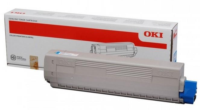 OKI 44059255 Toner cyan, 10K pages