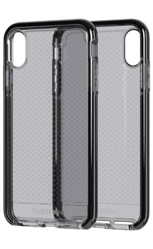 "Tech21 Evo Check mobile phone case 16.5 cm (6.5"") Cover Black,Transparent"