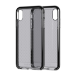 "Tech21 Evo Check mobile phone case 16.5 cm (6.5"") Cover Black,Transparent"