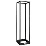 Tripp Lite SR4POST1224 rack cabinet 45U Freestanding rack Black