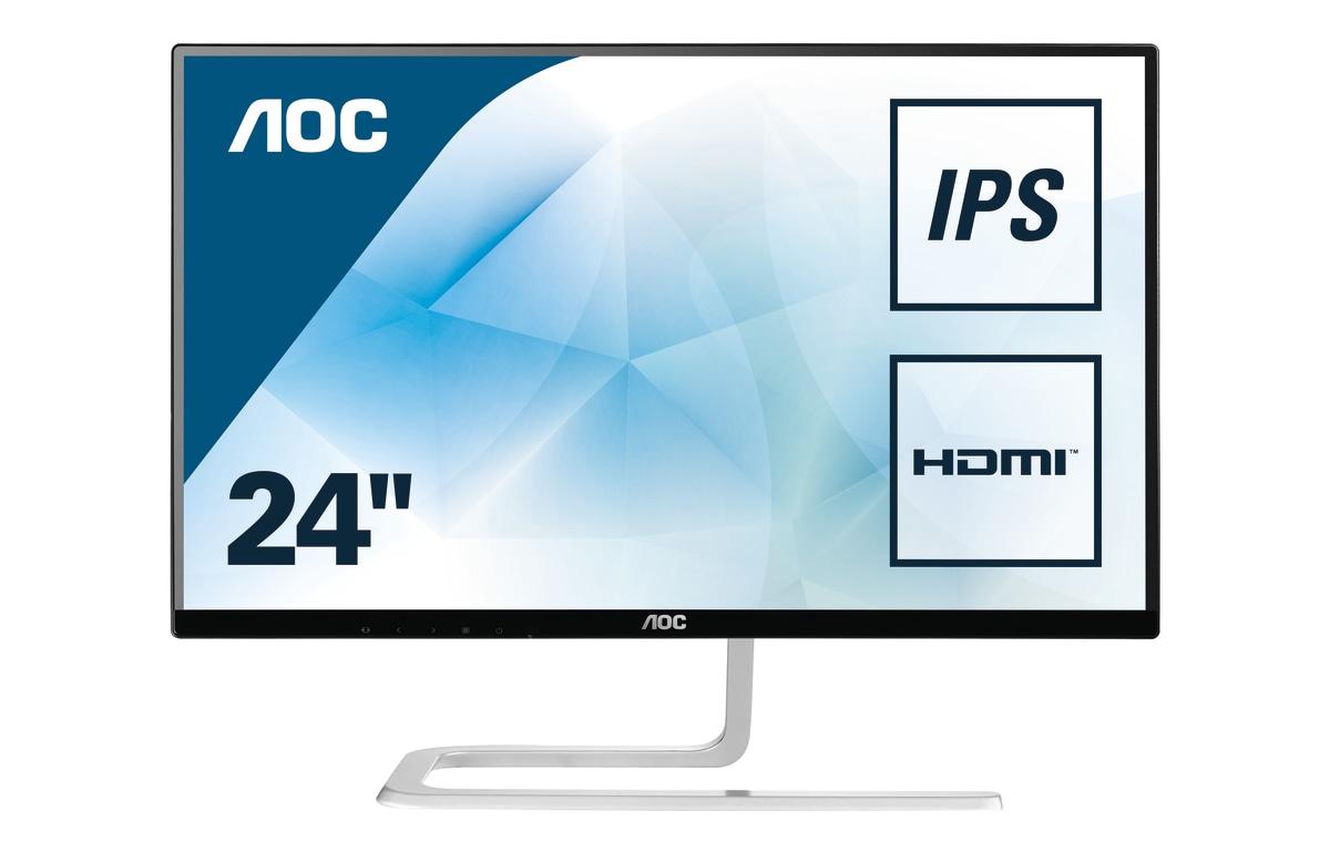 Desktop Monitor - I2481FXH - 23.8in - 1920x1080 (Full HD) - 4ms