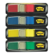 Post-It 683-4 Blank tab index Polyester Blue,Green,Red,Yellow tab index