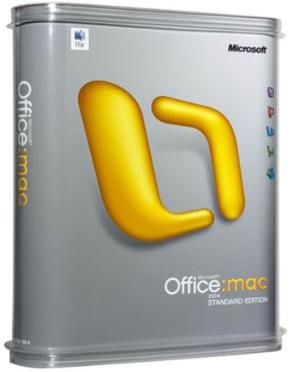 Microsoft Office Mac 2011 Standard, Sngl LicSAPk, OLV NL, 1Y Aq Y1 AP