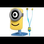 TEND Despicable Me Minions Stuart Cam Kit inc HD WiFi IP Camera & Headphones