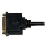 """StarTech.com HDDVIMF8IN video cable adapter 7.87"""" (0.2 m) HDMI DVI-D Black"""