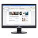 Philips Brilliance LCD monitor, LED backlight 190SL1SB