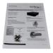 StarTech.com 4U Black Steel Storage Drawer for 19in Racks and Cabinets 4UDRAWER