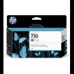 HP 730 130-ml Gray DesignJet 130ml Grey ink cartridge P2V66A