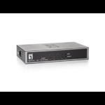 LevelOne 5-Port Gigabit Ethernet Switch, 1 Port SFP