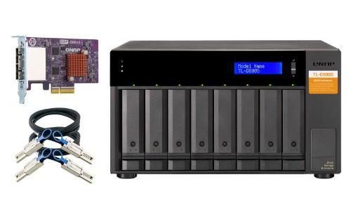 QNAP TL-D800S storage drive enclosure 2.5/3.5