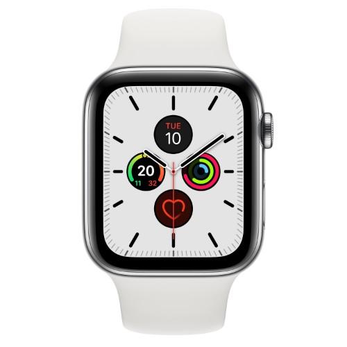 Apple Watch Series 5 smartwatch OLED Stainless steel 4G GPS (satellite)