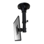 "Newstar TV/Monitor Ceiling Mount for 10""-30"" Screen, Height Adjustable - Black"