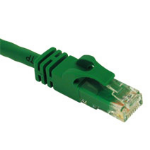 "C2G 10ft Cat6 550MHz Snagless Patch Cable Green networking cable 118.1"" (3 m)"